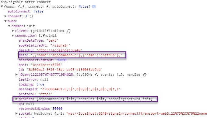 abp web signalr in application project #5149 | ASP NET Zero